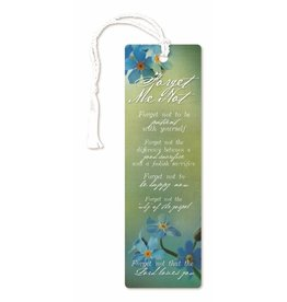 Forget-me-not bookmark