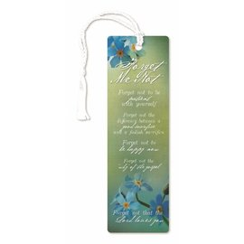 Cedar Fort Publishing Forget-me-not bookmark