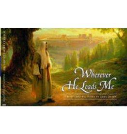 Wherever He Leads Me Postcard Booklet, Greg Olsen—Twenty-eight beautiful postcards