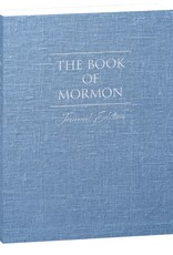PRE-ORDER (Available April 2019)  The Book of Mormon, Journal Edition, Blue Denim (No Index)