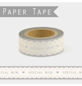 Scalloped Paper Tape - Special Mum