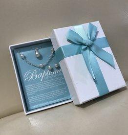 Jewellery Set Baptism Pearls