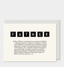 EastOfIndia Dictionary Card - Father