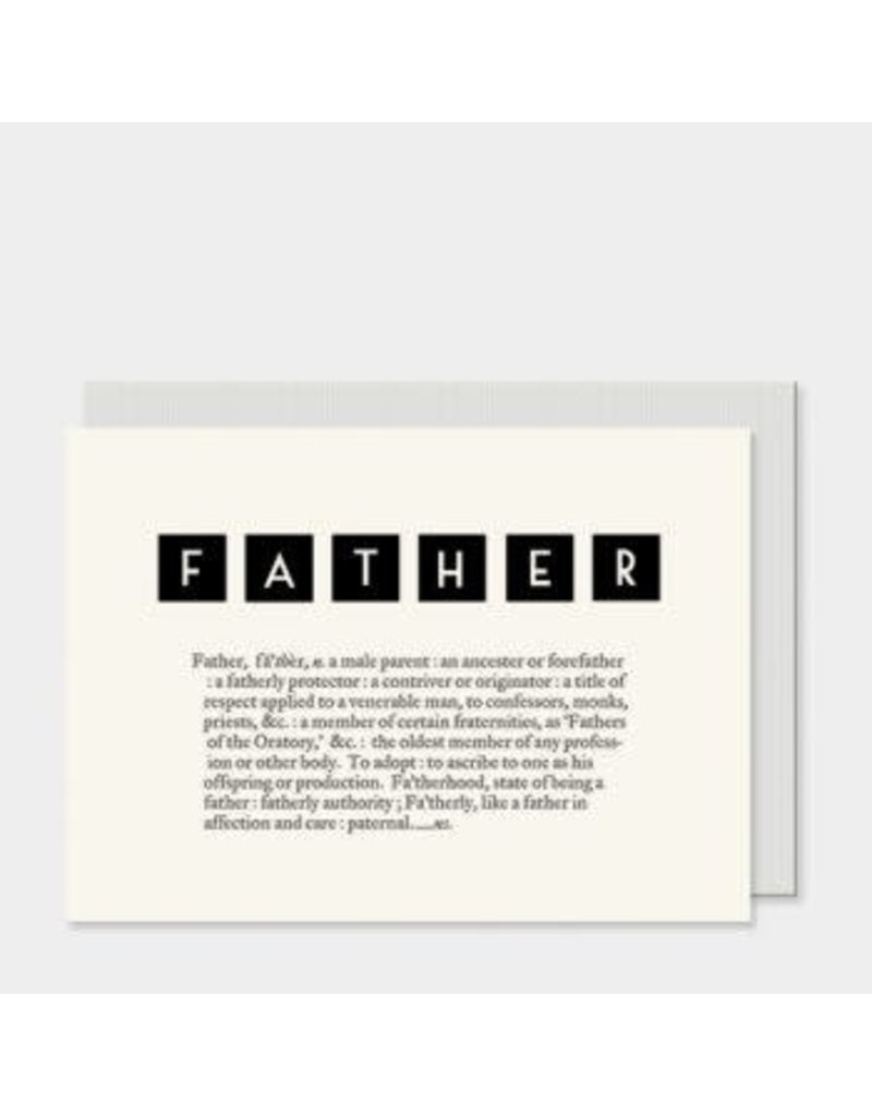 Dictionary Card - Father