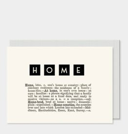 EastOfIndia Dictionary Card - Home