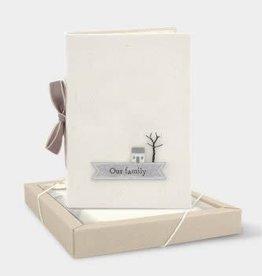 EastOfIndia Ribbon Album - Our Family