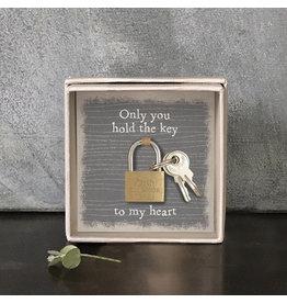 Padlock Key To My Heart