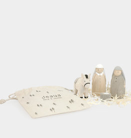 EastOfIndia Bag Set - Jesus Mary & Joseph