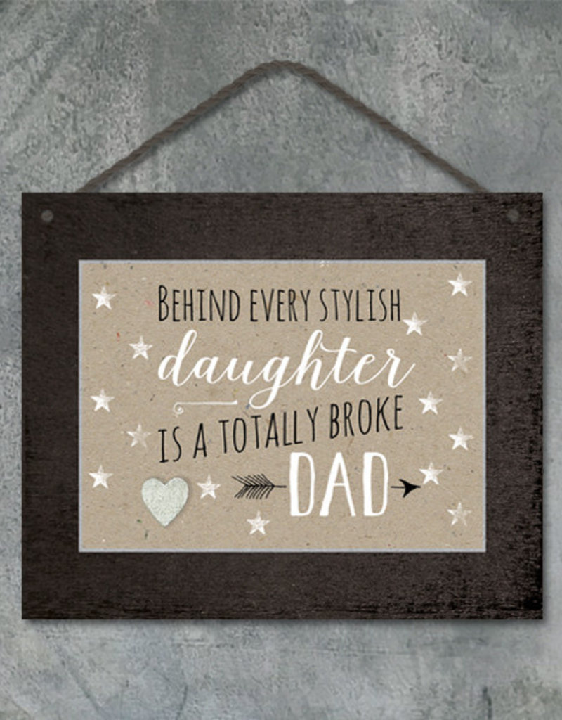 EastOfIndia Black Sign - Stylish Daughter
