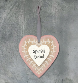 EastOfIndia Leaf Heart - Special Friend