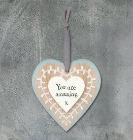 EastOfIndia Leaf Heart - You Are Amazing