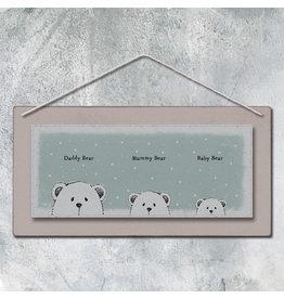 Baby Picture - Daddy Bear, Mummy Bear, Baby Bear.