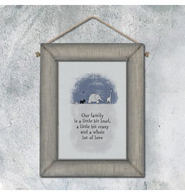 Grey Frame -Our Family Is A Little...