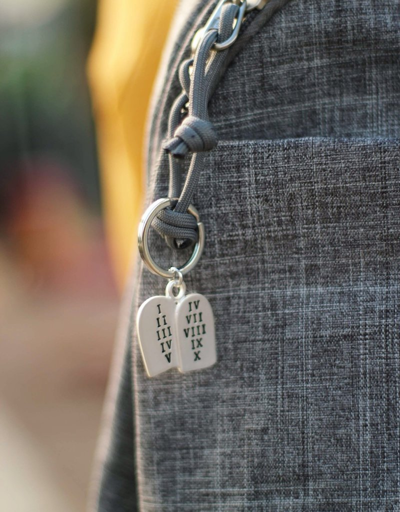 Commandment Tablet Key Ring, If ye love me keep my commandments 2019 Mutual theme