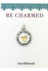 Be Charmed If Ye Love Me Keep My Commandments Word Charm With Heart, 2019 Mutual Theme