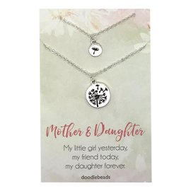 Mother & Daughter Necklace set of 2