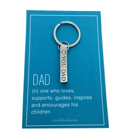 Dad Key Ring – One Who Loves