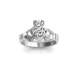Celestial Ringdom CTR Irish Claddagh Ring