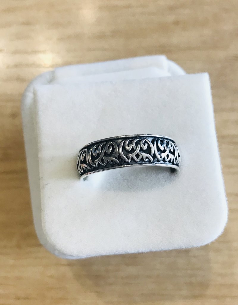 Celestial Ringdom CTR Celtic Heavy Band Ring