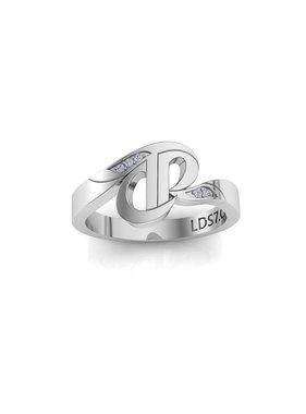 CTR Swirl Stone Set Ring