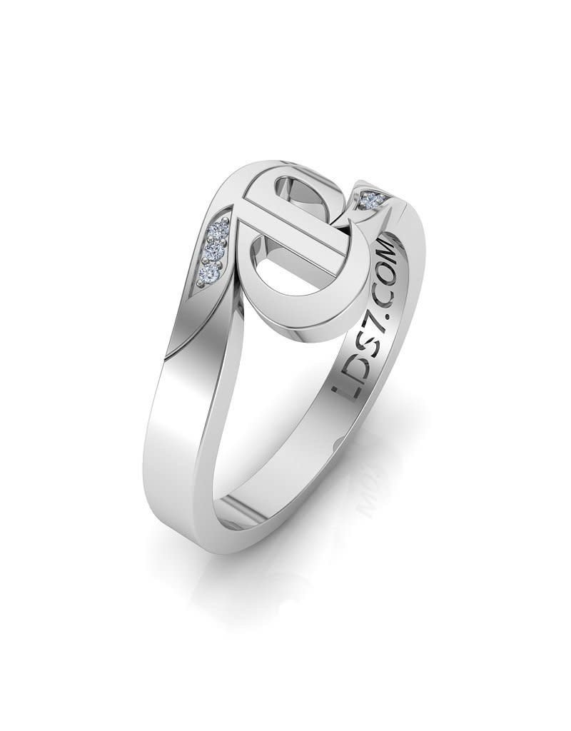 Celestial Ringdom CTR Swirl Stone Set Ring