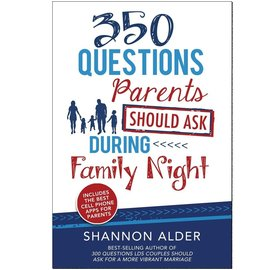 Cedar Fort Publishing 350 Questions Parents Should Ask during Family Night Shannon Alder