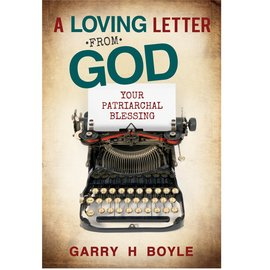Cedar Fort Publishing A Loving Letter from God, Your Patriarchal blessing