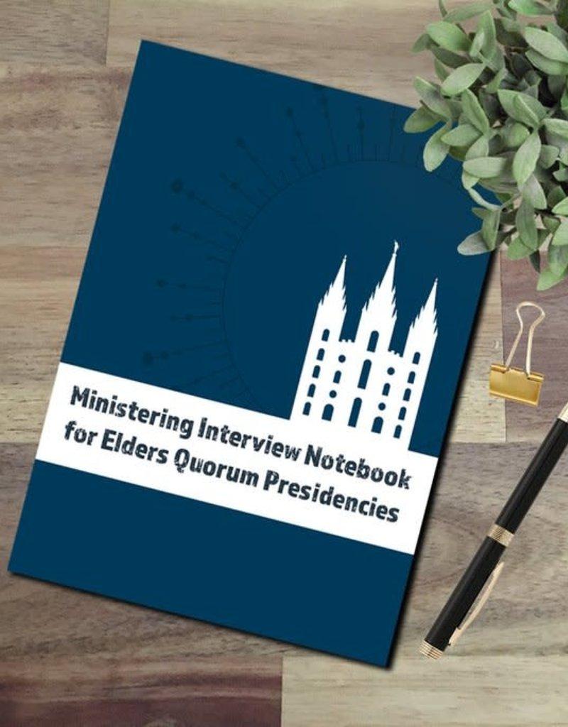 sinead poznanski Ministering Interview Notebook for Elders Quorum Presidencies