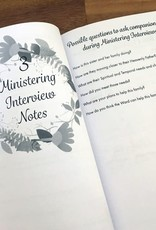 sinead poznanski Ministering Interview Notebook for Relief Society Presidencies