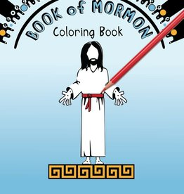sinead poznanski Book of Mormon Coloring Book