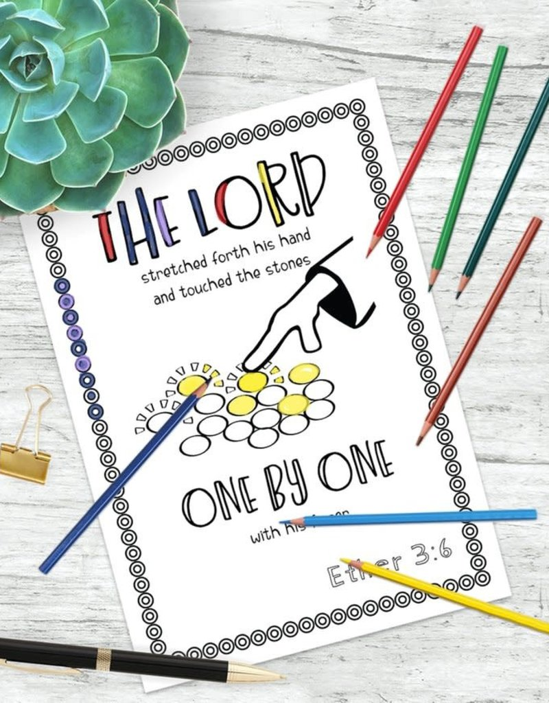 sinead poznanski Book of Mormon Coloring Book