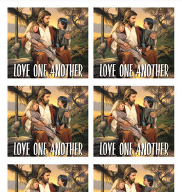 Altus fine art Love One Another Art By Simon Dewey 30 Stickers