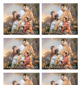 Altus fine art I Am A Child Of God Art By Simon Dewey 30 Stickers