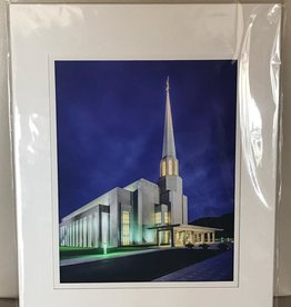 Altus fine art Preston England Temple by Scott Jarvie 11x14 Matt