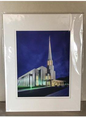 Preston England Temple by Scott Jarvie 11x14 Matt