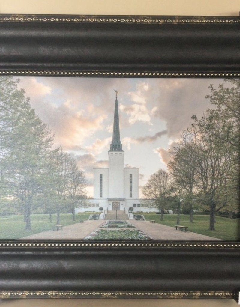Altus fine art London Temple Garden View 21x16 Framed RRP £139.99
