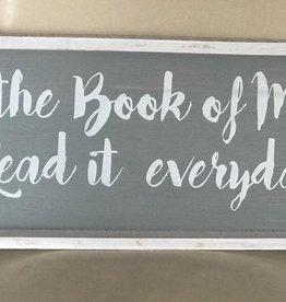 Read the Book Mormon Wall Plaque