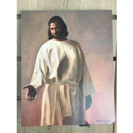 "Jenny Fowler - Artist Come Unto Christ . Print 10""x 8"" by Jenny Fowler"