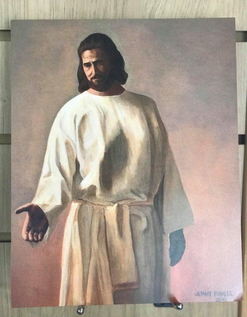 "Come Unto Christ . Print 10""x 8"" by Jenny Fowler"