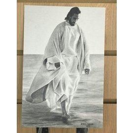 "Jenny Fowler - Artist Walking grace Print 6""x9"" by Jenny Fowler"