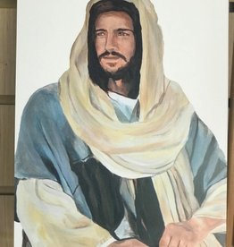"JennyFowlerArt The Christ. Print 8""x10"" by Jenny Fowler"