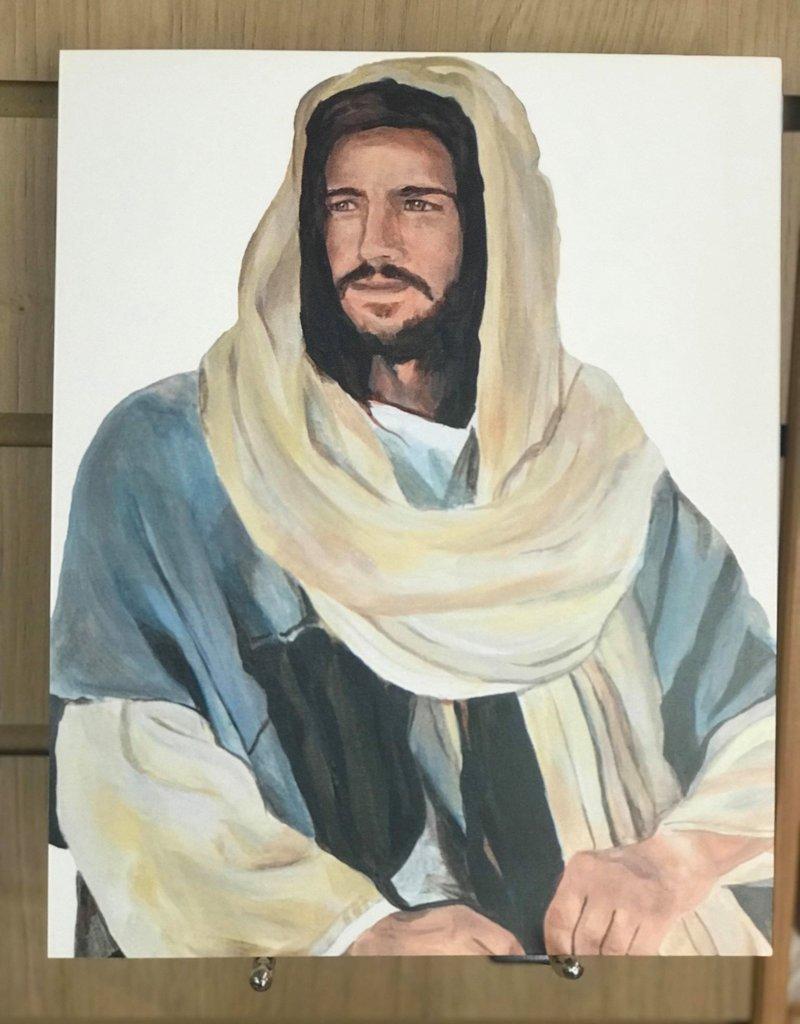 "JennyFowlerArt The Christ. Print 8""x10"" by Jenny Fowler"
