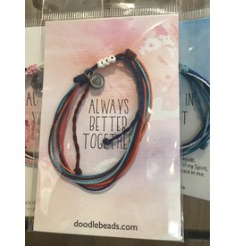 Better together Thread bracelet