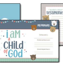 The Three Bears of Baptism Journal