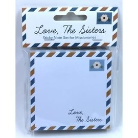 Seagull Books LOVE, THE SISTERS STICKY NOTE SET FOR MISSIONARIES