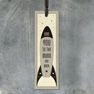 EastOfIndia 1900 -Bookmark-Love you to moon