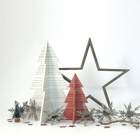 3352 -Slot together tree-Small red
