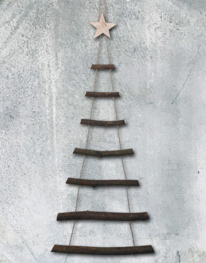 Ladder Christmas Tree.Eastofindia 3357 Rope Ladder Christmas Tree