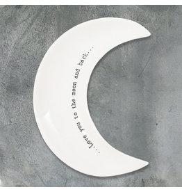 6007 Wobbly moon dish-Moon & back