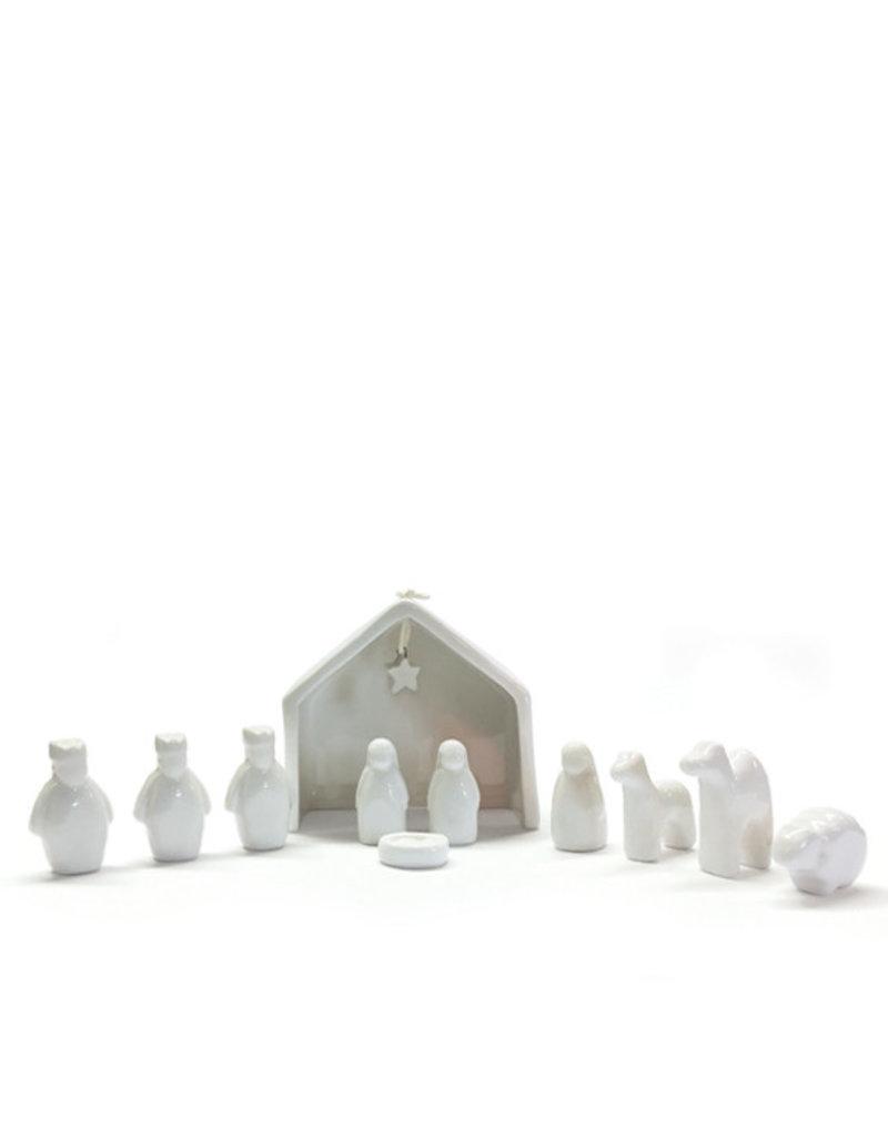 1548 Porcelain Nativity set